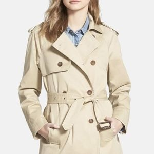 Hinge Trench Coat